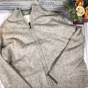 NWT Weatherproof Vintage Zip Sweater, Size Large